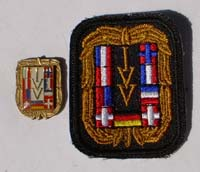 Picture of the pin and patch for 125 Events