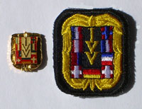 Picture of the pin and patch for 175 Events