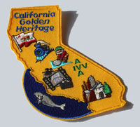 Picture of the California Golden Heritage Patch