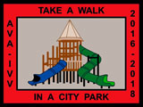 Picture of the Take a Walk In a City Park Award