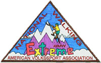 Picture of the Extreme Volkssporing Award