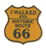Picture of the Route 66 Patch