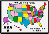 Picture of the Walk the USA - Street by Street Award