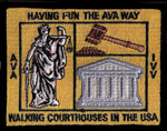 Walking Courthouses in the AmericanA.  Award
