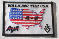 Picture of the Walking USA A - Z
